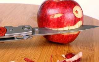 Почему нельзя есть с ножа – плохая примета