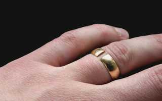 Примета: лопнуло (треснуло) кольцо на пальце
