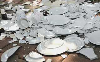 Приметы о разбитой посуде