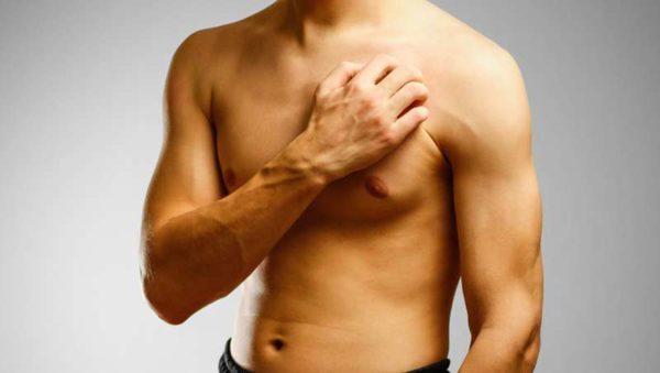 Чешется левая грудь у мужчины примета