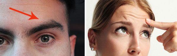 Зудит левая бровь у мужчины и женщины