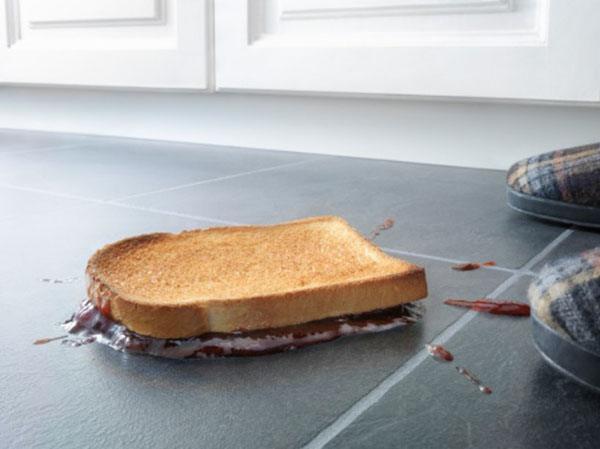 Хлеб на полу