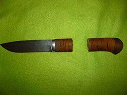 Сломанная рукоять ножа