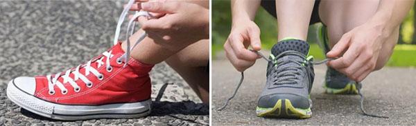 К чему развязываются шнурки