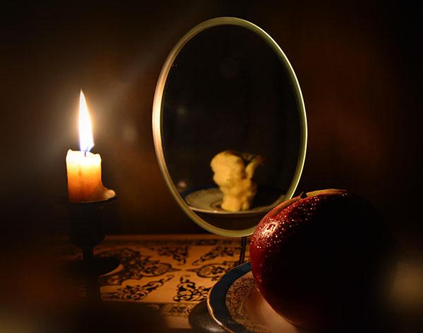 Зеркало в магическом ритуале