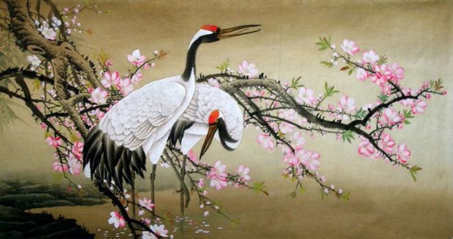 Журавли в японской культуре