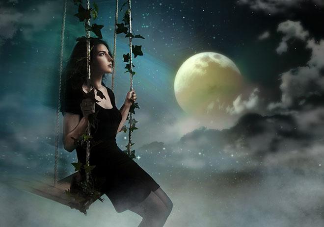 Ритуал при полной Луне