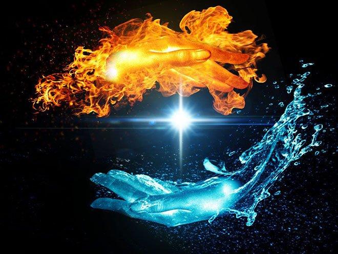 Стихия огня и воды